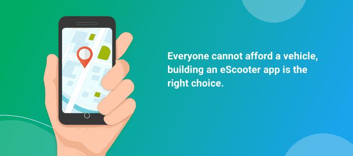 escooter Flutter App Development